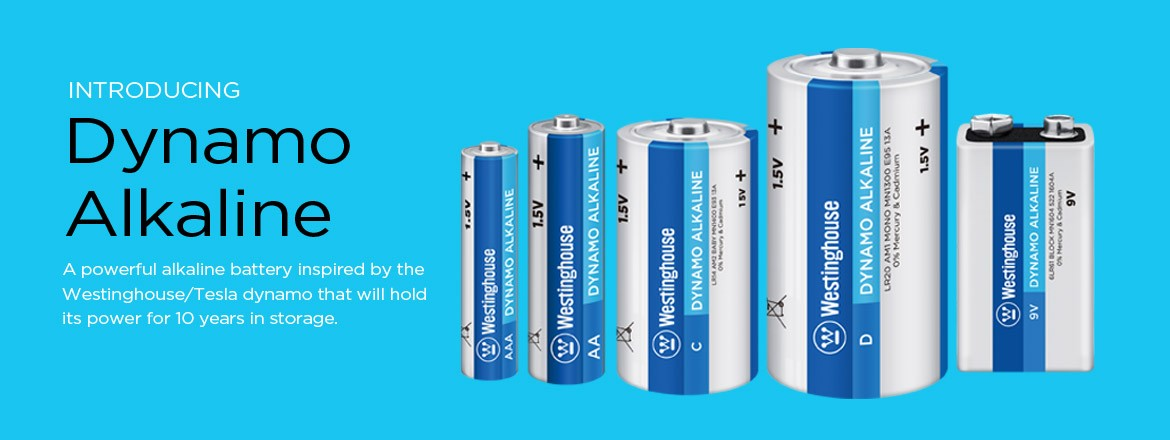 Dynamo Alkaline Battery